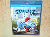 STRUMPFII -BLU-RAY+DVD -AUDIO SI SUBTITRAT LB.ROMANA, BLU RAY