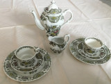 Set - ceai / cafea - portelan Englezesc - Ridgway - Windsor - 2 persoane