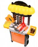 Set banc de scule copii cu bormasina electrica de jucarie - 36778115