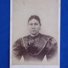 FOTOGRAFIE VECHE PE SUPORT DE CARTON , L. WAISMAN , BUCURESCI