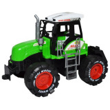 Utilaj Tractor Roben,Plastic,Verde,3 ani +