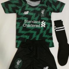 Echipament/compleu -tricou/sort copii FC LIVERPOOL- SALAH -2019+BONUS, YM, YXXL, Tricou + Pantalon