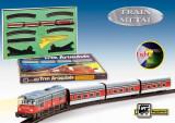 """Trenulet electric calatori """"Articulado"""", cu macaz"""