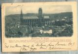 AD 385 C. P. VECHE-PANORAMA DE ROUEN-CIRC.1903-CATRE TH. CINCU -TECUCI -ROMANIA