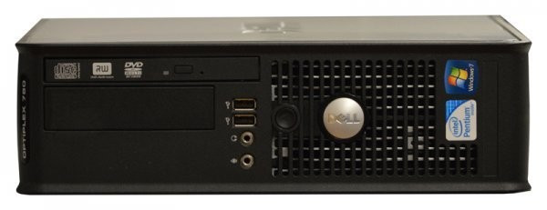 Calculator Dell Optiplex 780 Desktop SFF, Intel Core 2 Duo E7500 2.93 GHz, 4 GB DDR3, 250 GB HDD SATA, DVDRW