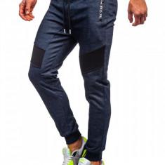 Cumpara ieftin Pantaloni de trening camuflaj bleumarin Bolf TC878
