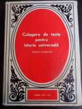 Culegere De Texte Pentru Istoria Universala Epoca Moderna Vol - Colectiv ,547133