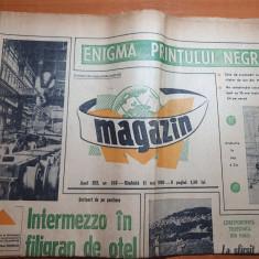magazin 11 mai 1968-dinamo bucuresti 20 ani de existenta,articol hunedoara
