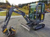 Mini excavator : Volvo EC18D