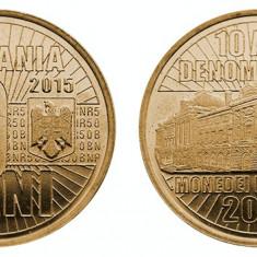 SV * Romania   50  BANI  2015     UNC     din  fasic