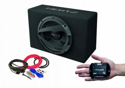 Pachet subwoofer auto Hertz DBX 30.3 + Amplificator Stetsom IR 280.1 + kit de cabluri complet foto