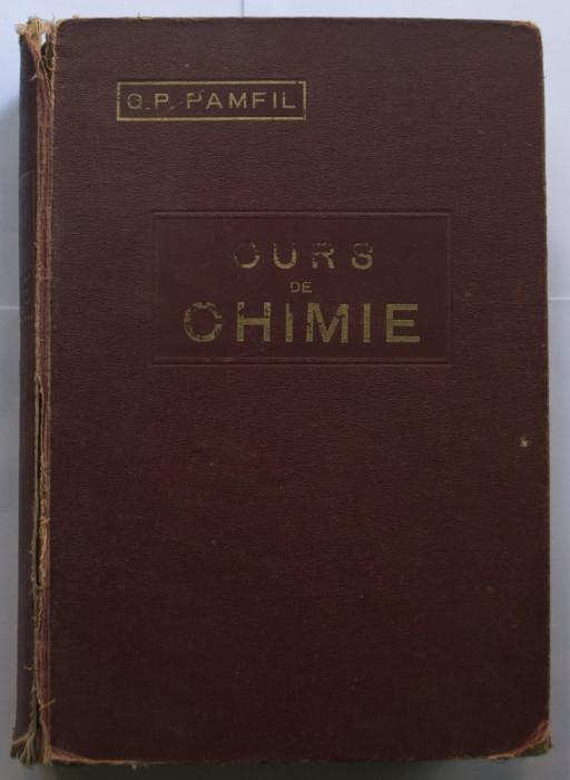 Curs de chimie, de G.P.Pamfil - 1928