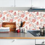 "Sticker Autocolant Faianta Decorativa ""Kitchen Design"" model K-FOL-27 (pret/metru liniar), 4World"