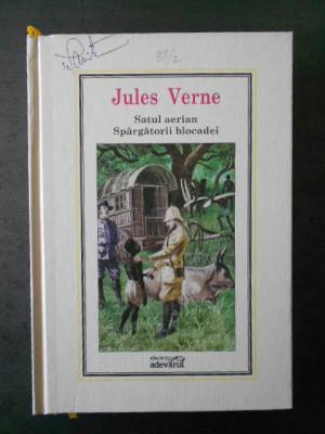 Jules Verne - Satul aerian, Spargatorii blocadei * Adevarul, Nr. 37 foto