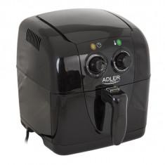 Friteuza Adler pentru prajit cartofi si delicatese, putere 1500W, capacitate 2L