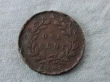 One Cent 1886 Sarawak, Asia, Cupru (arama)