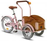 Bicicleta Pegas Mini Cargo 1S (Roz)