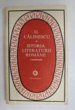 ISTORIA LITERATURII ROMANE,COMPENDIU-G.CALINESCU
