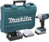 Masina de insurubat cu impact Makita MTD127DWE, 1 acumulator, 18V, 1.3 Ah