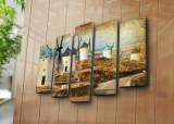 Tablou decorativ pe panza Horizon 5 Piese, 237HRZ4260, Multicolor