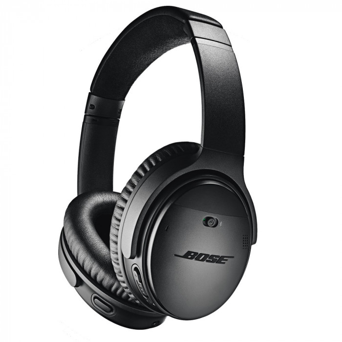 Resigilat : Casti audio Bose QuietComfort 35 II Wireless culoare Negru