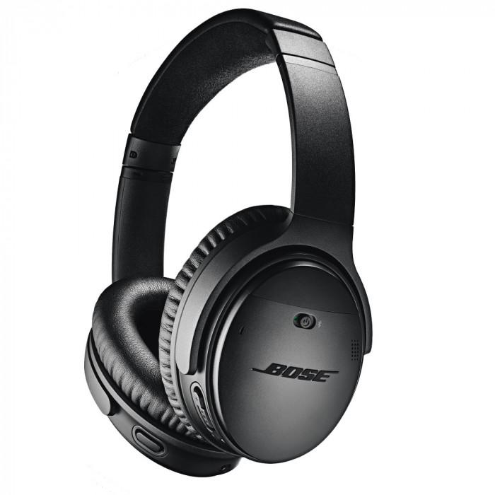 Resigilat : Casti audio Bose QuietComfort 35 II Wireless culoare Negru
