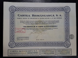 Actiune 1945 Cartea Romaneasca - titlu duplicat 20 actiuni
