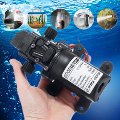Pompa apa 6 Litri debit cu presostat 12V 70W rulote agricultura barca