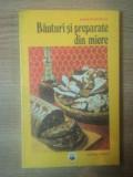 BAUTURI SI PREPARATE DIN MIERE de MARIA TEODORESCU , Bucuresti 1978