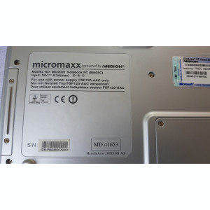 LEPTOP MEDION MICROMAXX MID2020