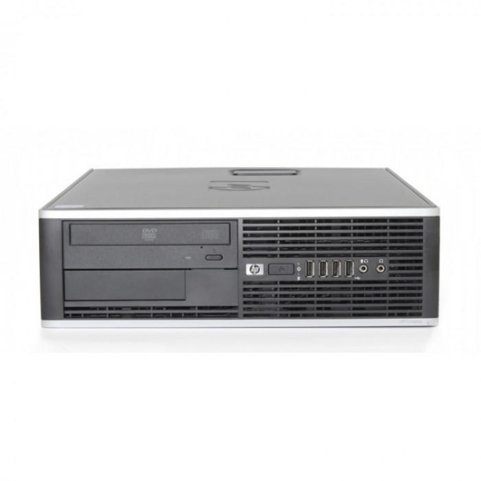 Calculator HP Compaq 8000 Elite Desktop, Intel Core2 Quad Q9500 2.83GHz, 4GB DDR3, 320GB SATA, DVD-RW