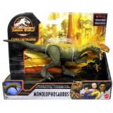 Jurassic World Savage Strike - Dinozaur Monolophosaurus 20 cm, Mattel