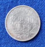 Moneda din Argint - 25.000 Lei 1946  Regele Mihai - piesa SUPERBA