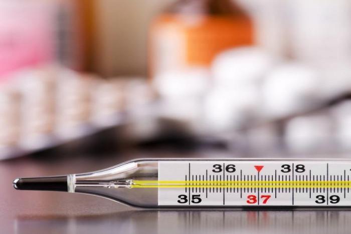 Termometru medical clasic cu mercur