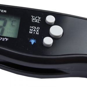 Termometru digital cu sonda pentru alimente, IP67, LCD iluminat, magnet
