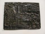 "PVM Aplica / Tablou fonta ""Orasul GUTERSLOH"" Germania / 1,300 kg / 20 x 14,50 cm, Ornamentale"