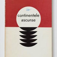 Grigore Hagiu - Continentele ascunse (copertă Harry Guttman; tiraj 1340 ex.)