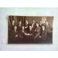 FOTOGRAFIE TIP CARTE POSTALA, C0LECTIV DE COLEGI, 1923