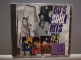 60's Soul Hits - Selectii (1988/Wisepack/Germany) - CD ORIGINAL/Sigilat/Nou