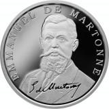 Moneda Romania 10 Lei 2019 - Proof ( Desavarsirea Marii Uniri - E. Martonne )
