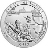 Statele Unite (SUA) Quarter 2019 P - Guam, 24.3 mm, P-New UNC !!!