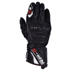 Cumpara ieftin Manusi scuter motocicleta negre piele lungi Sport RP-5 Oxford cu protectie