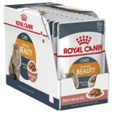 Cumpara ieftin Royal Canin Intense Beauty Gravy, 12 plicuri x 85 g