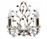 Aplica de perete Viola - Exquisite Lighting, Gri & Argintiu