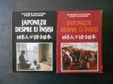 KAZUKO DIACONU, PAUL DIACONU - JAPONEZII DESPRE EI INSISI 2 volume