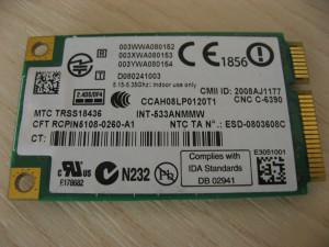 Placa wireless laptop HP EliteBook 8530p, Intel WiFi Link 5300, 506679-001