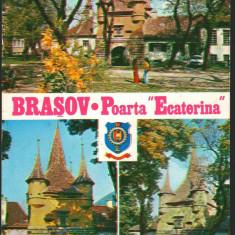 """CPI B12351 CARTE POSTALA - BRASOV. POARTA """"ECATERINA"""""""