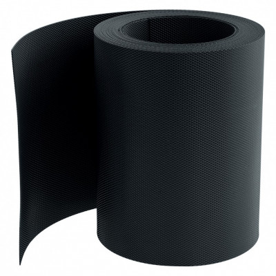 PALISAD Banda pentru bordura , 15 x 900 cm, neagra, PALISAD 64478 foto