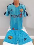 Echipament fotbal pt copii FC.Barcelona Messi model nou albastru 2019-2020