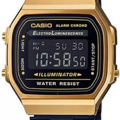 Ceas Barbati CASIO VINTAGE GENT GOLD BLACK A168WEGB-1B